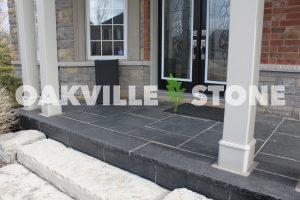 Oakville Black Limestone Install WM