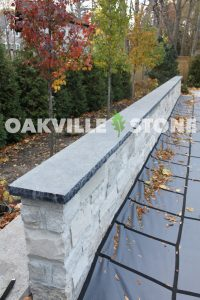 Oakville Black Limestone Wall Caps - WM