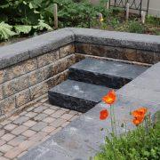 Oakville Stone Step Installation