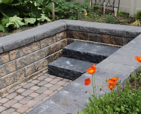 Oakville Stone Step Installation