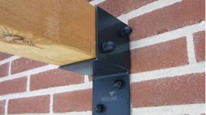 pergola kit - wall support