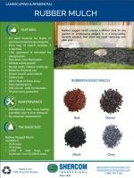 Shercom Rubber Mulch Flyer